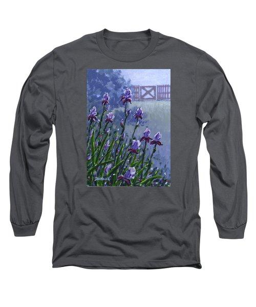 Morning Iris Long Sleeve T-Shirt
