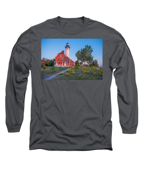 Morning Light At Au Sable Point Long Sleeve T-Shirt