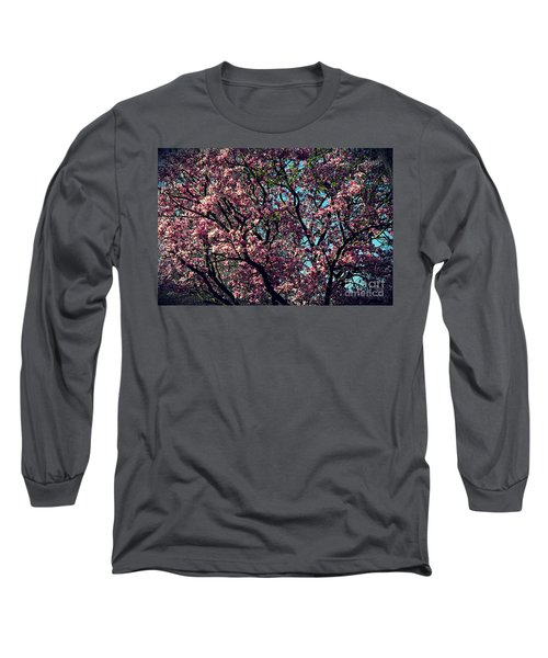 Morning Lit Magnolia Long Sleeve T-Shirt