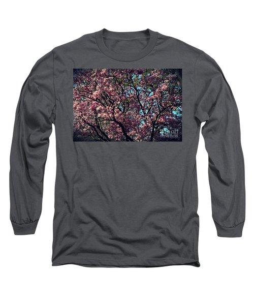 Morning Lit Magnolia Long Sleeve T-Shirt