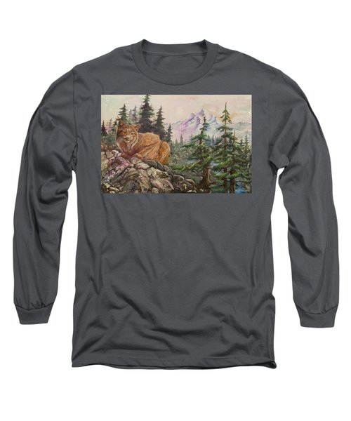 Morning Lynx Long Sleeve T-Shirt