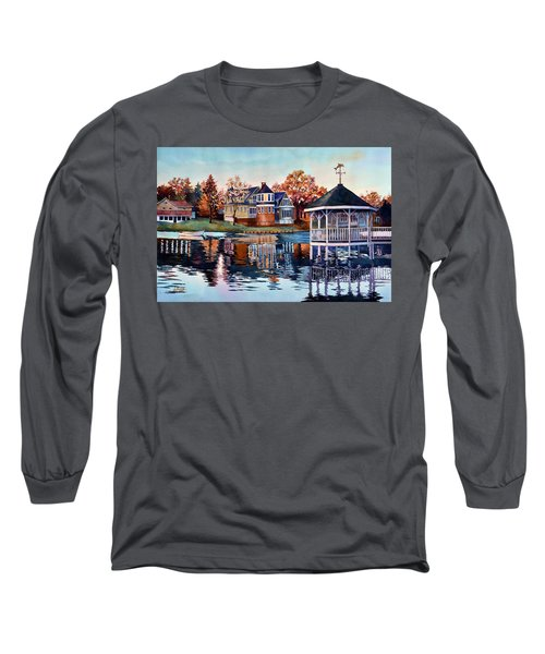Morning On Silver Lake Long Sleeve T-Shirt