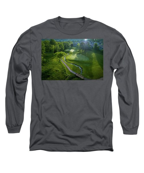 Morning On The 9th Long Sleeve T-Shirt