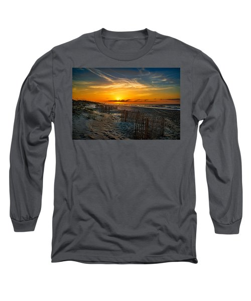 Morning On The Bogue Banks Long Sleeve T-Shirt