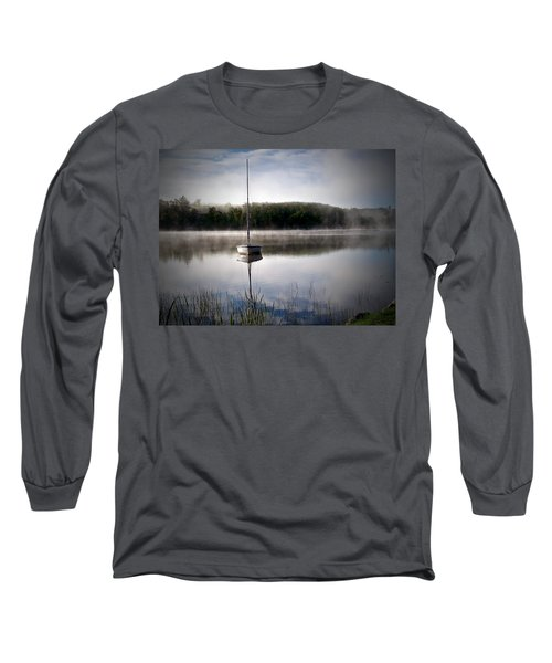 Morning On White Sand Lake Long Sleeve T-Shirt