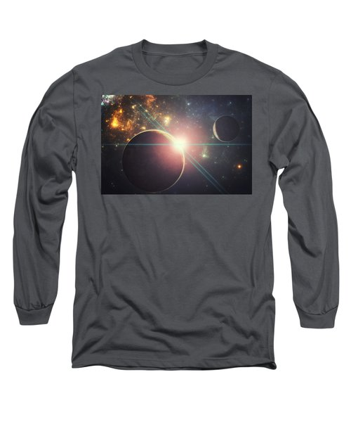 Morning Over The Planet X Long Sleeve T-Shirt