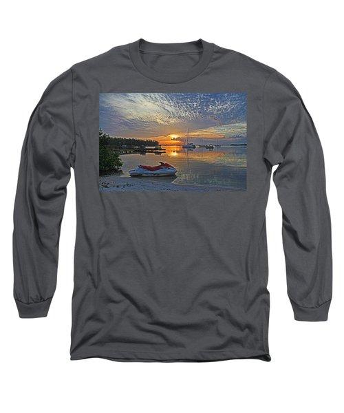Morning Peace - Florida Sunrise Long Sleeve T-Shirt