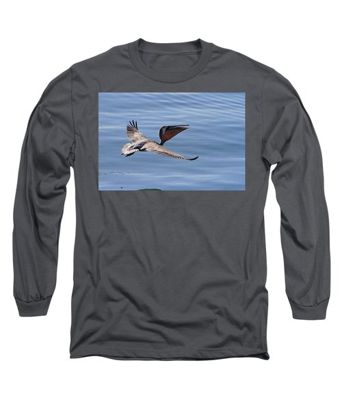 Morning Pelican Long Sleeve T-Shirt