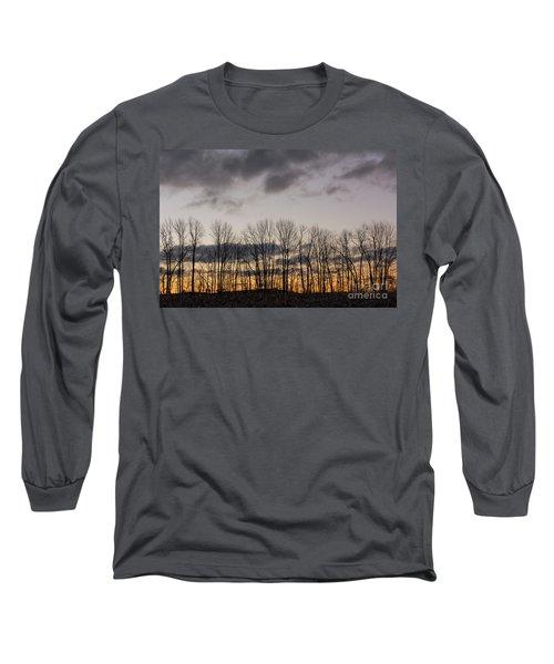 Morning Sky Long Sleeve T-Shirt by Nicki McManus