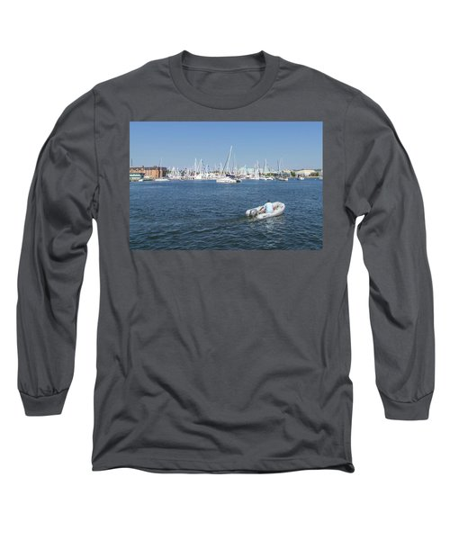 Solitude On The Creek Long Sleeve T-Shirt