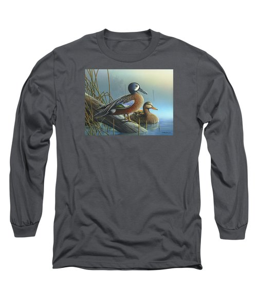 Morning Sun Long Sleeve T-Shirt by Mike Brown