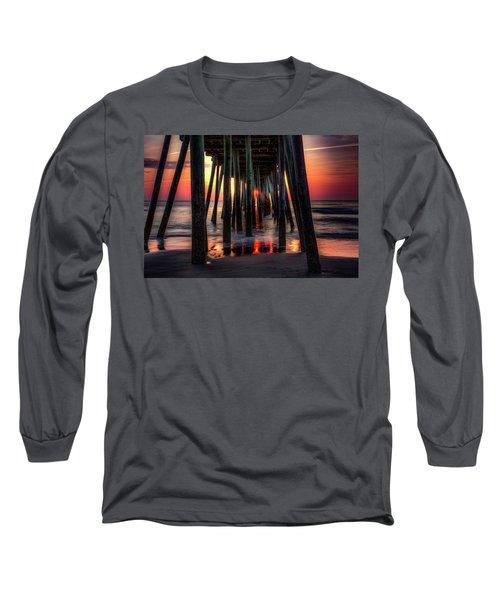 Morning Under The Pier Long Sleeve T-Shirt