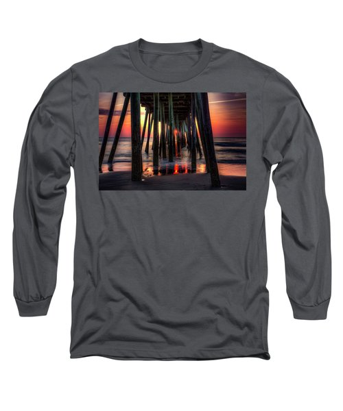 Morning Under The Pier Long Sleeve T-Shirt