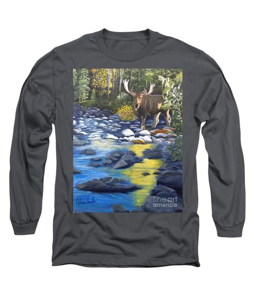 Morning Visitor Long Sleeve T-Shirt
