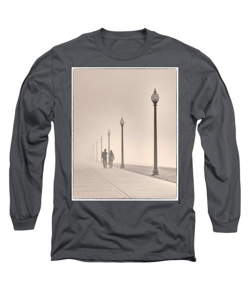 Morning Walk Long Sleeve T-Shirt by Don Spenner