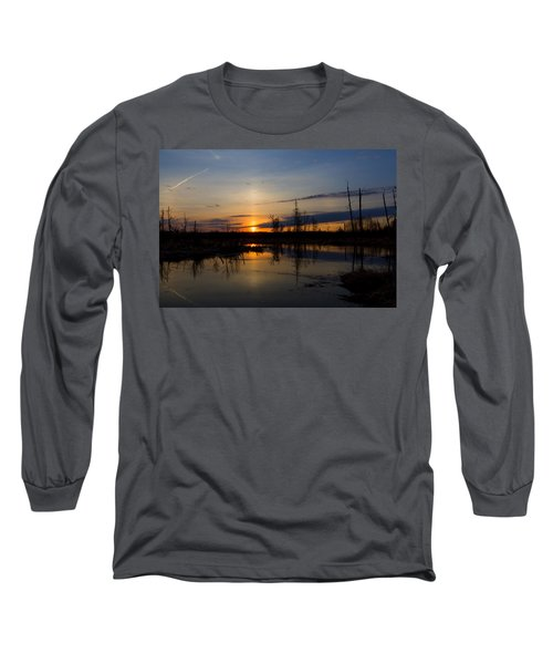 Morning Wilderness Long Sleeve T-Shirt by Gary Smith
