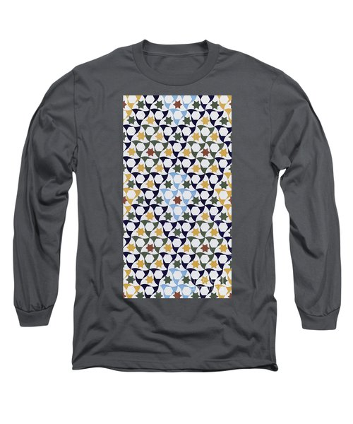 Mosaic From The Portico Of The Generalife Long Sleeve T-Shirt