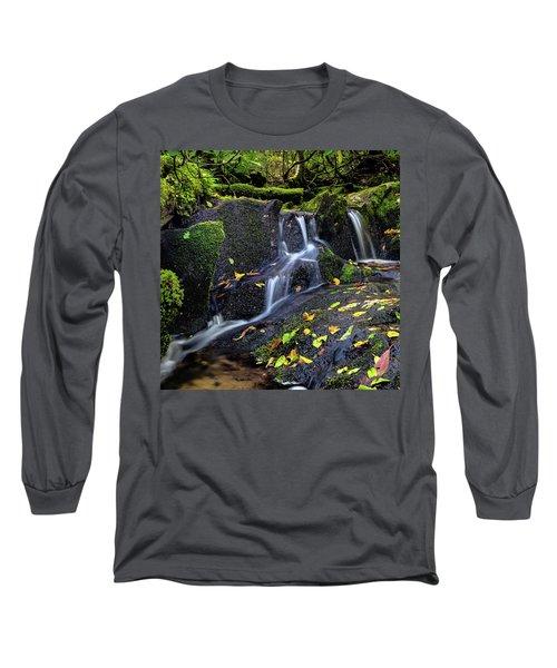Emerald Cascades Long Sleeve T-Shirt