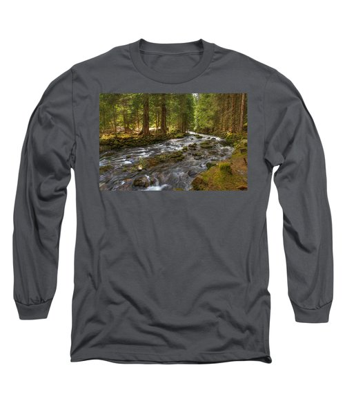 Mossy Stream Long Sleeve T-Shirt