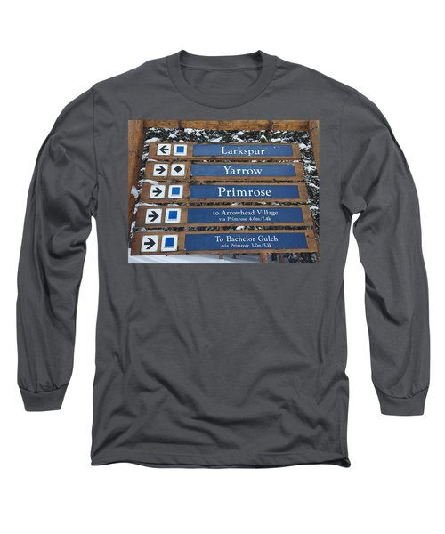 Most Go Right Long Sleeve T-Shirt by Christin Brodie