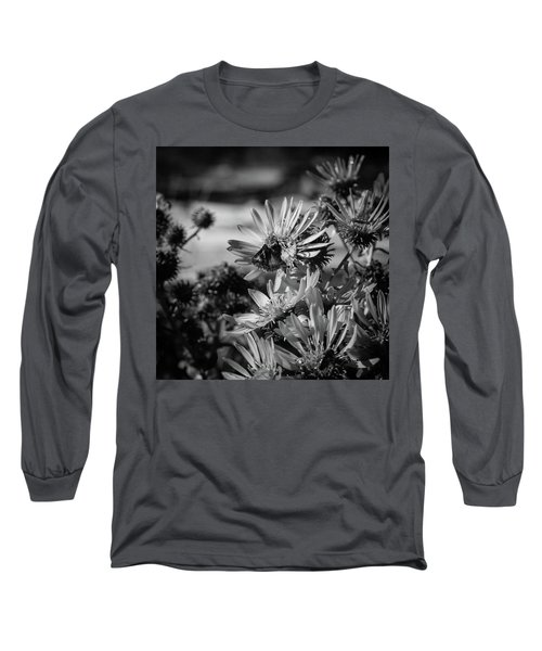 Moth And Flowers Long Sleeve T-Shirt