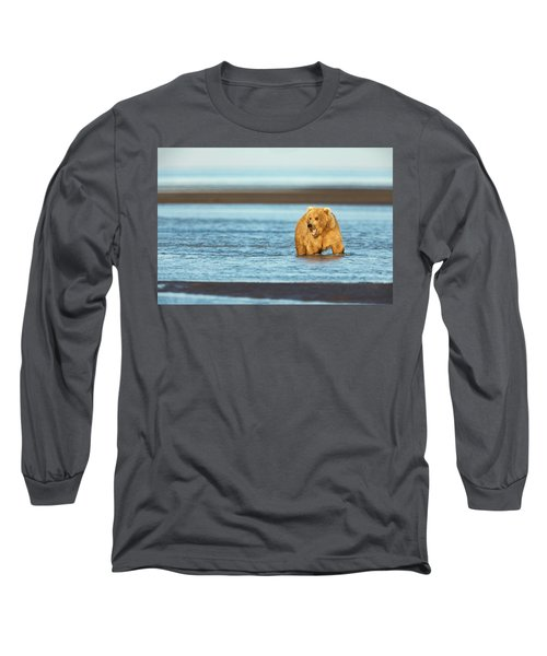Mother Grizzly Fishing Long Sleeve T-Shirt