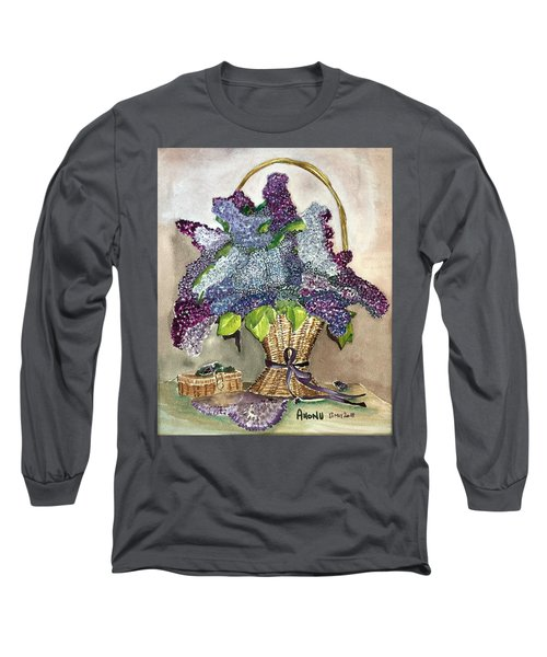 Mothers Day Lilacs Long Sleeve T-Shirt