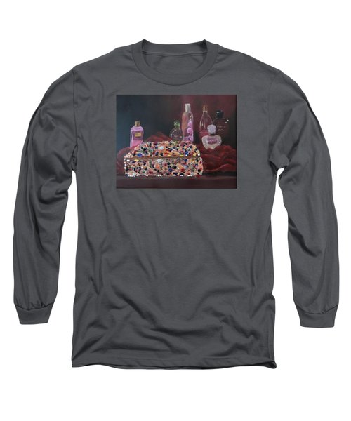 Mother's Jewelry Box Long Sleeve T-Shirt by Quwatha Valentine