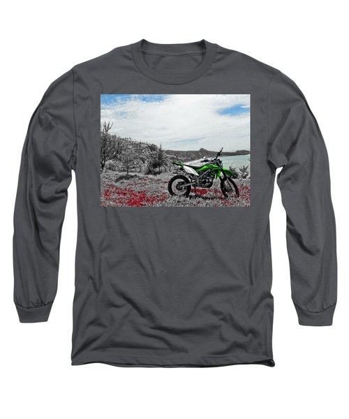 Motocross Long Sleeve T-Shirt