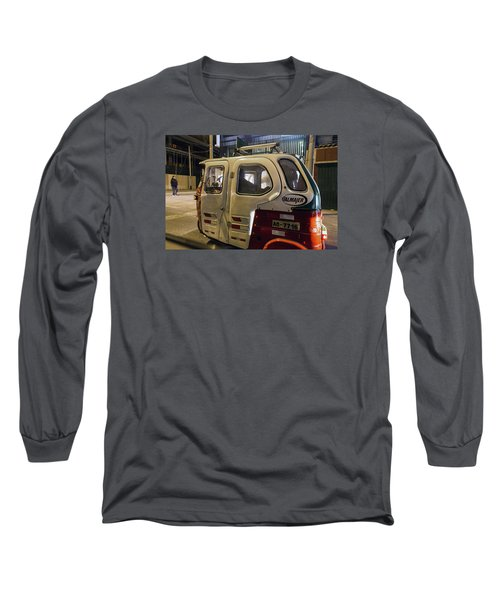 Motorcycle Cab In Lima, Peru Long Sleeve T-Shirt