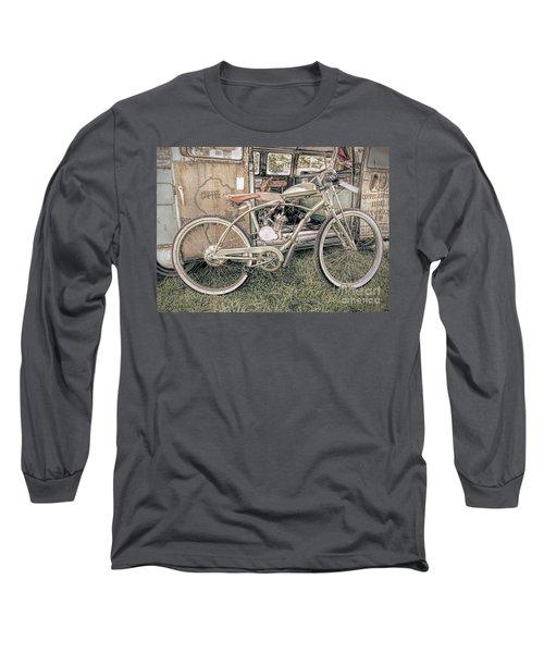 Motorized Bike Long Sleeve T-Shirt