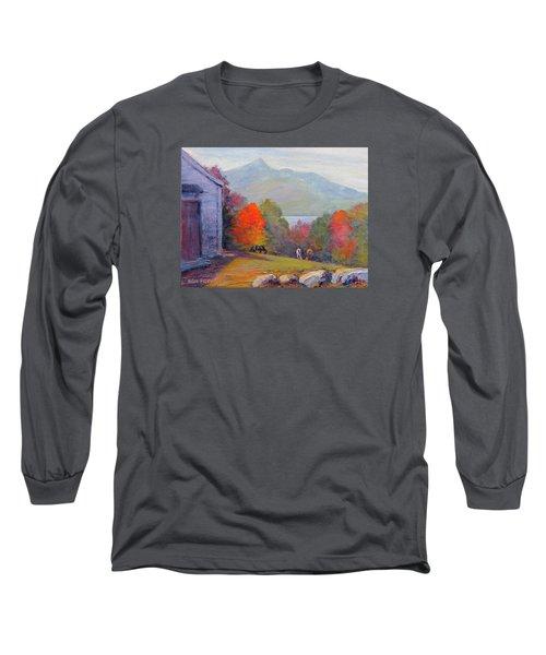Mount Chocorua Long Sleeve T-Shirt