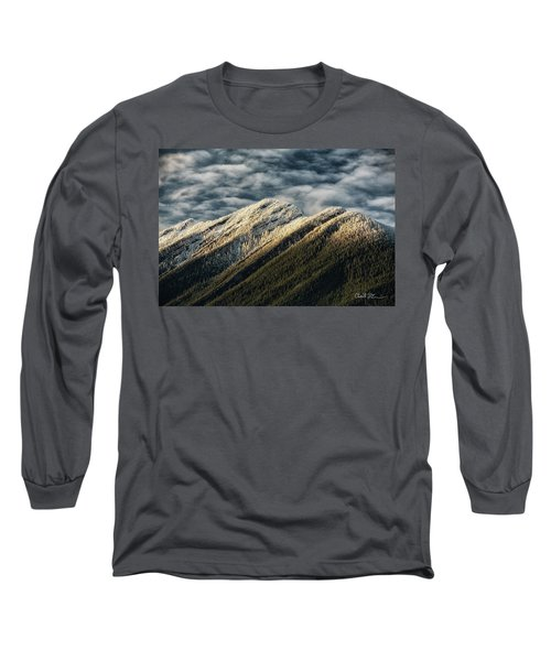 Mount Higgins Clouds Long Sleeve T-Shirt