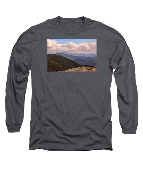 Mount Mansfield Vermont Long Sleeve T-Shirt