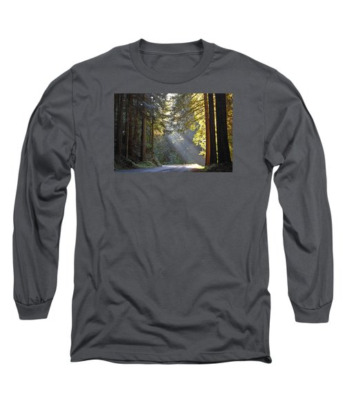 Mount Rainier At Nisqually Long Sleeve T-Shirt