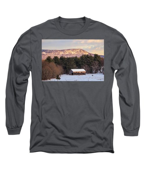 Mount Tom View From Southampton Long Sleeve T-Shirt