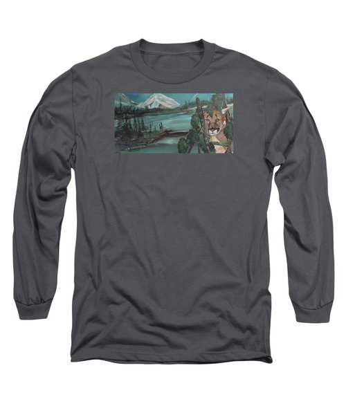 Mountain Cat Long Sleeve T-Shirt
