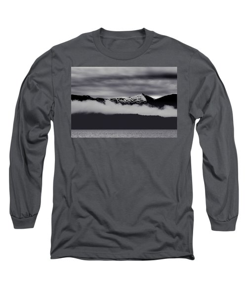 Mountain Contrast Long Sleeve T-Shirt