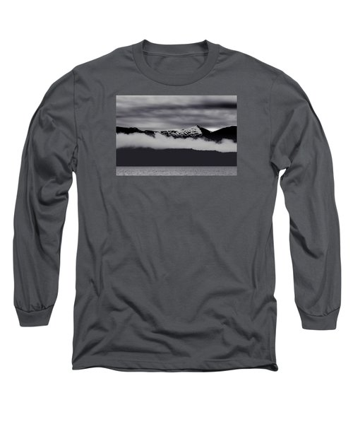 Mountain Contrast Long Sleeve T-Shirt