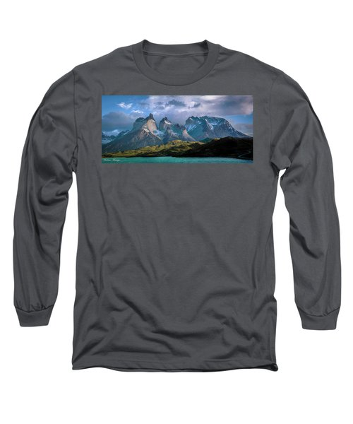 Mountain Dream Long Sleeve T-Shirt by Andrew Matwijec