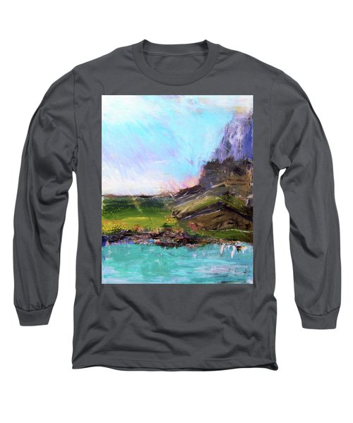 Mountain Fenceline Long Sleeve T-Shirt