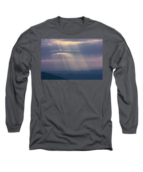 Mountain God Rays Long Sleeve T-Shirt