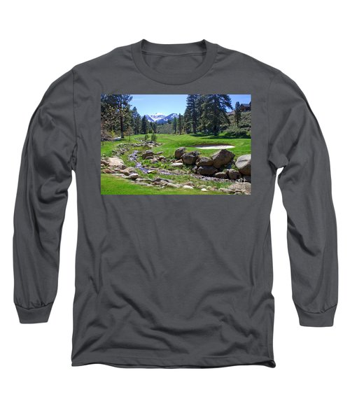Mountain Golf Course Long Sleeve T-Shirt