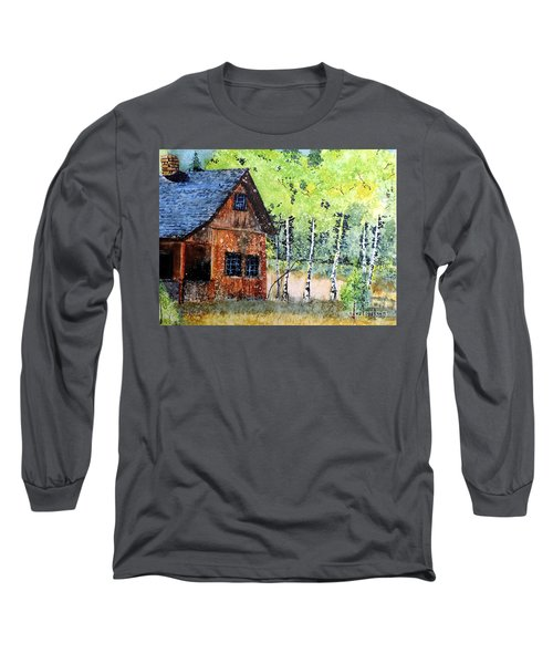 Mountain Home Long Sleeve T-Shirt by Tom Riggs