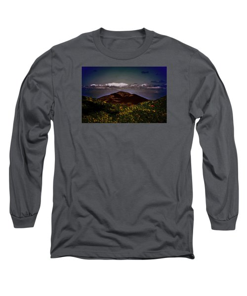 Mountain Of Love Long Sleeve T-Shirt by B Wayne Mullins