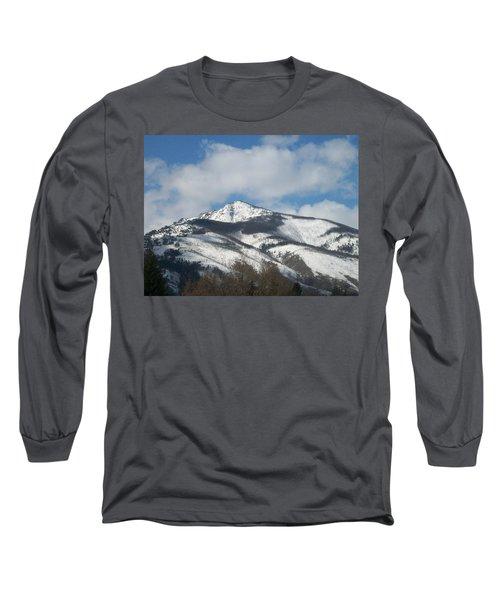 Mountain Peak Long Sleeve T-Shirt by Jewel Hengen