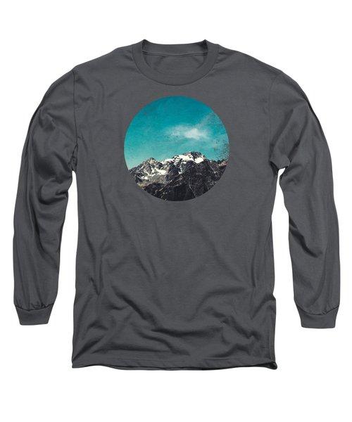 Mountain Range - Chiesa In Valmalenco - Lombardia - Italy Long Sleeve T-Shirt