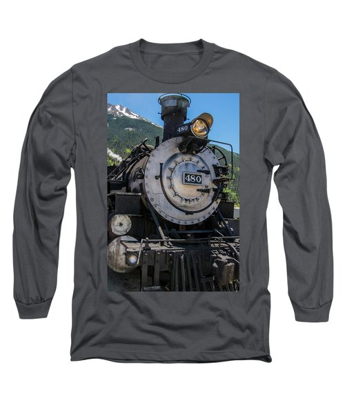 Long Sleeve T-Shirt featuring the photograph Mountain Ride by Colleen Coccia