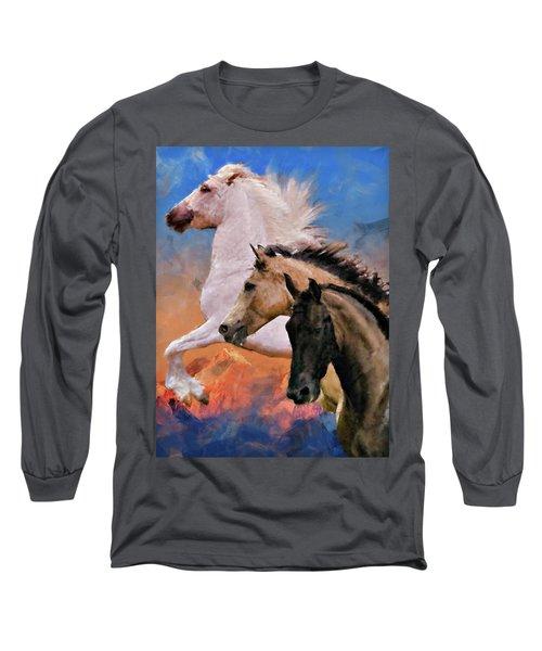 Mountain Ridge Royalty Long Sleeve T-Shirt