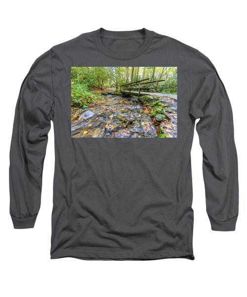 Mountain Stream #2 Long Sleeve T-Shirt